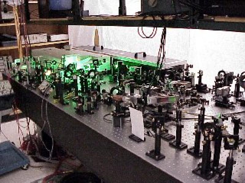 old laser system